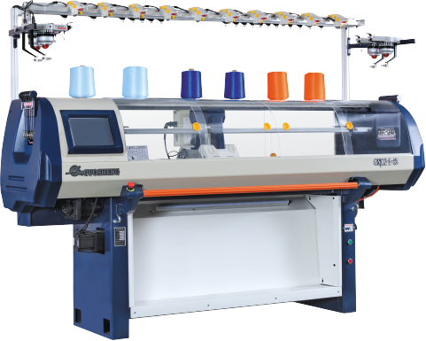 Economical Single System Computerized Flat Knitting Machine Series