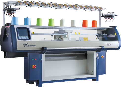 Double System Computerized Flat Knitting Machine Series